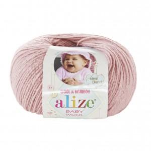 BABY WOOL ALIZE (40 % шерсть, 20 % бамбук, 40 % акрил ,50 г 175 м)
