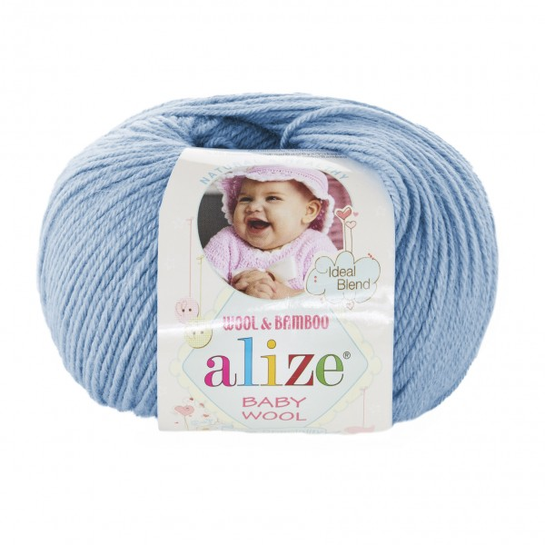 BABY WOOL  ALIZE (беби вул Ализе)  №350