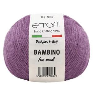 BAMBINO LUX WOOL (60% шерсть мериноса, 40% акрил, 50 г 160 м)
