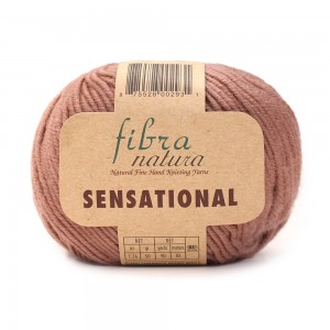 SENSATIONAL FIBRA NATURA (100% мериносовая шерсть, 50 г 83 м)