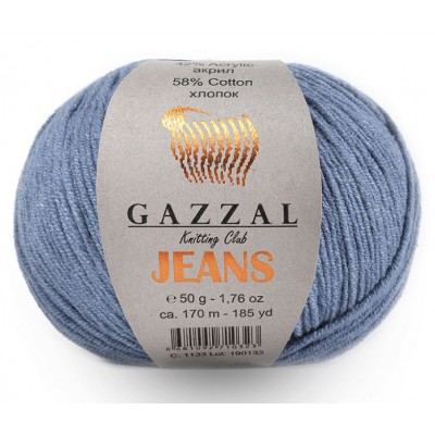 JEANS GAZZAL (58% хлопок, 42% акрил, 50 г 170 м)