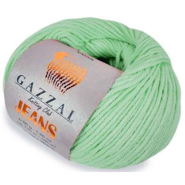 JEANS GAZZAL (58% хлопок, 42% акрил, 50 г 170 м) 1107