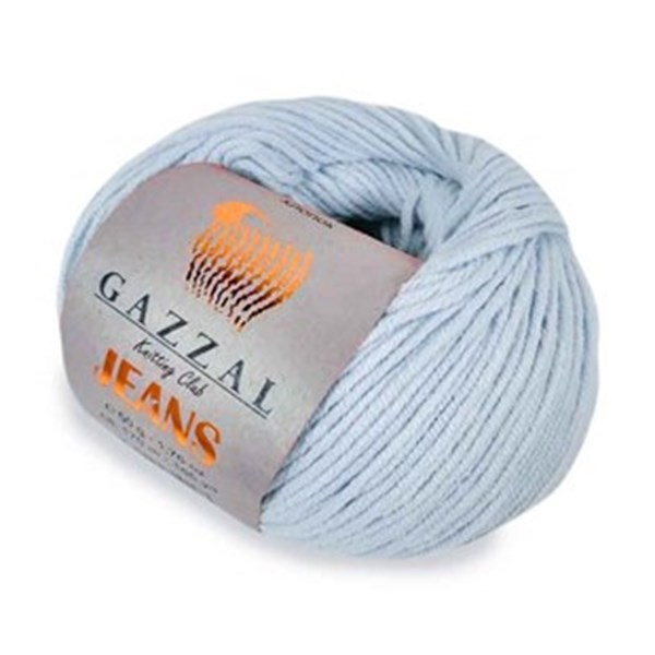 JEANS GAZZAL (58% хлопок, 42% акрил, 50 г 170 м) 1109