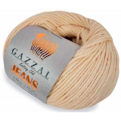 JEANS GAZZAL (58% хлопок, 42% акрил, 50 г 170 м) 1113