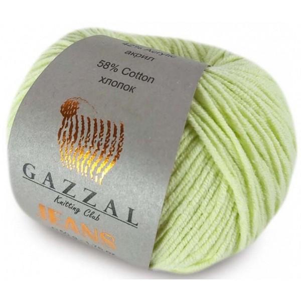 JEANS GAZZAL (58% хлопок, 42% акрил, 50 г 170 м) 1127