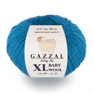 BABY WOOL XL GAZZAL (40% мериносовая шерсть, 20% кашемир, 40% акрил, 50 г 100 м)