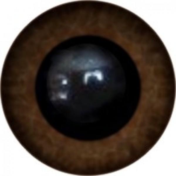 Глазки для игрушек  6 мм,на петельке