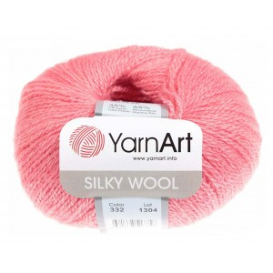 SILKY WOOL YARN ART