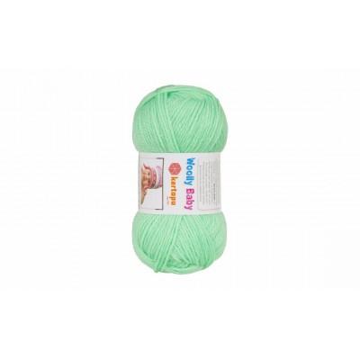 Woolly baby ( 30% шерсть, 50% акрил, 20%, полиамид, 50 г/148 м)