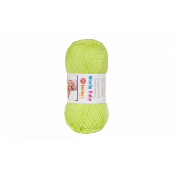 Woolly baby ( 30% шерсть, 50% акрил, 20%, полиамид, 50 г/148 м) 439
