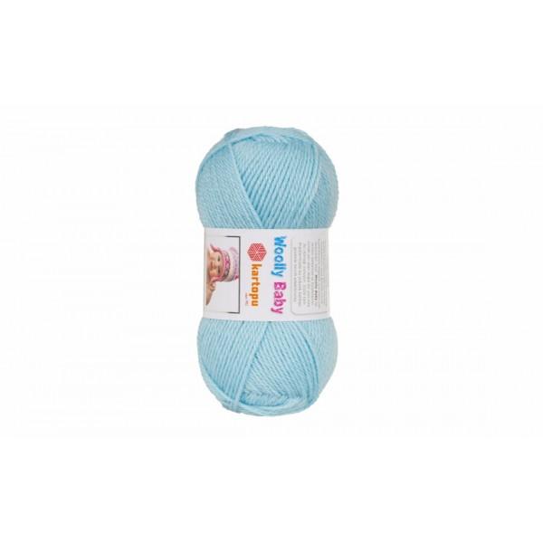 Woolly baby ( 30% шерсть, 50% акрил, 20%, полиамид, 50 г/148 м) 502