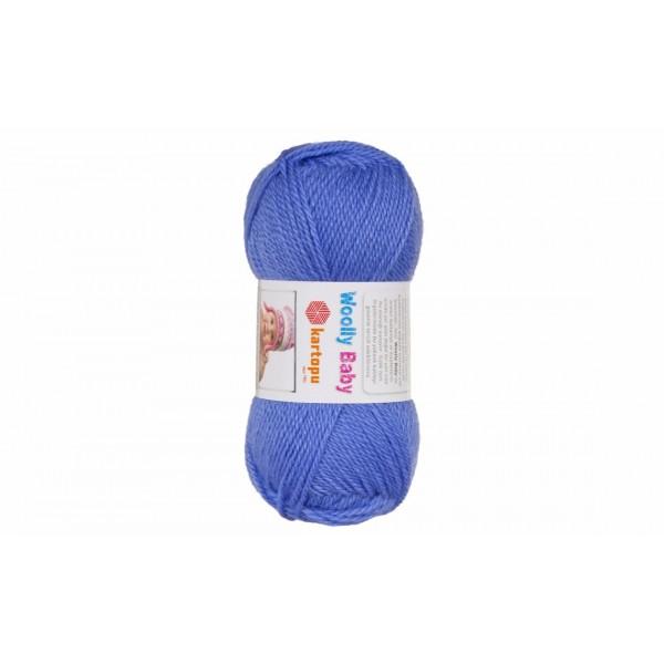 Woolly baby ( 30% шерсть, 50% акрил, 20%, полиамид, 50 г/148 м) 535