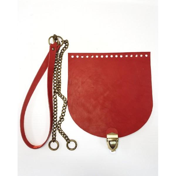Комплект для сумки  из натуральной кожи №16