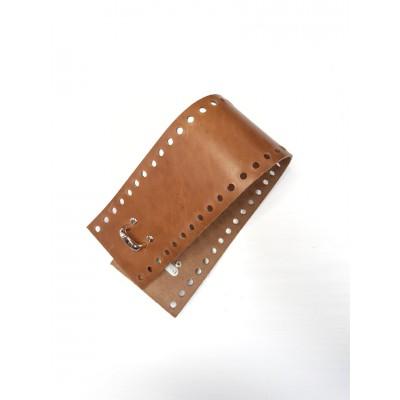 Боковина для сумки кожа 42*8 см №1