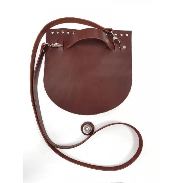 Комплект для сумки  из натуральной кожи №17