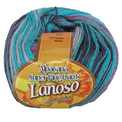 Alpacana Super Fine Print (Альпакана супер файн Ланосо) 812