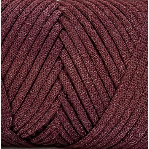 Cotton Filled Cord 3mm Maccaroni (Коттон филд корд Макарони)  14-бордовый