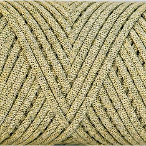 Cotton Filled Cord 3mm Maccaroni (Коттон филд корд Макарони)  оливковый