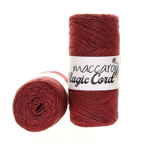 Maccaroni Metallic Twist ( Металлик твист) 8- бордовый