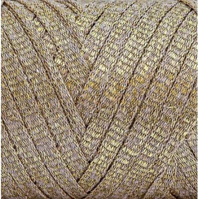 RIBBON GLITER Maccaroni (Риббон глиттер Маккарони) 10 золото