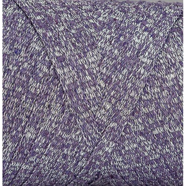 RIBBON GLITER Maccaroni (Риббон глиттер Маккарони) 12- серо-фиолетовый