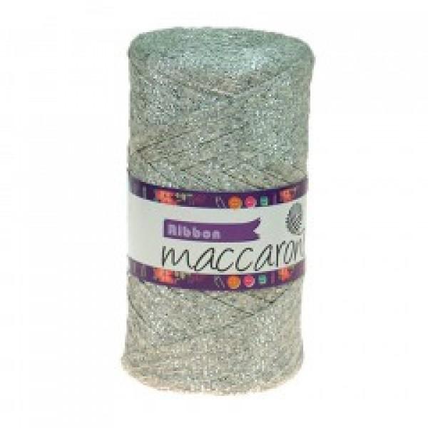 RIBBON GLITER Maccaroni (Риббон глиттер Маккарони) 4 св.серебро