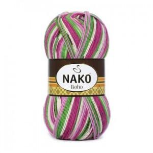 BOHO NAKO (100гр 400м, 25% полиамид, 75% шерсть)