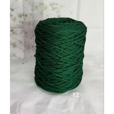Полиэфирный шнур с сердечником 3 мм №12 зеленый