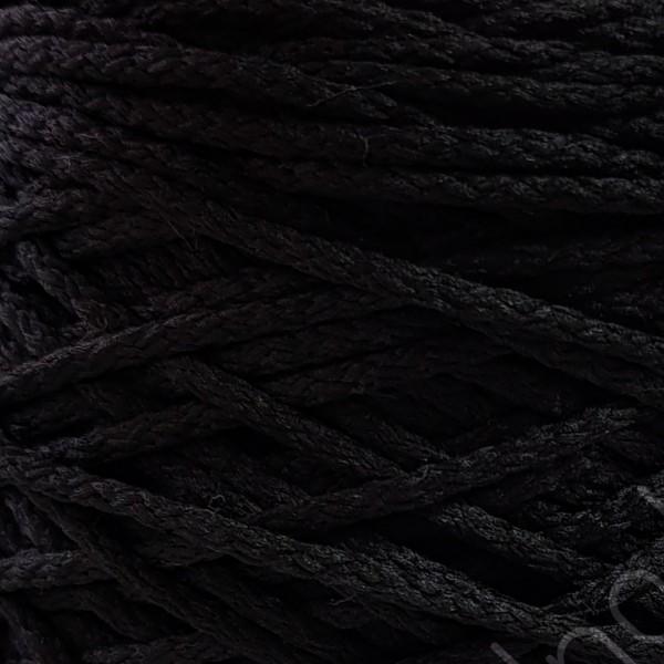 Полиэфирный шнур с сердечником 3 мм  черный