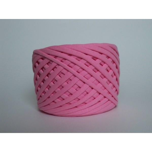 Трикотажная пряжа первичного производства (Розовый яркий)