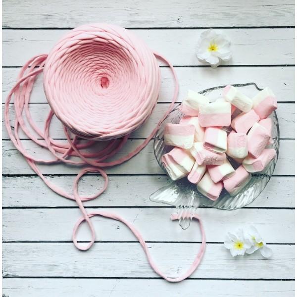 Трикотажная пряжа первичного производства (Нежно-розовый)
