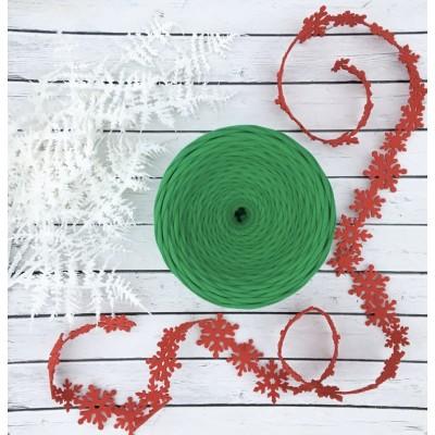 Трикотажная пряжа первичного производства (Зеленый)