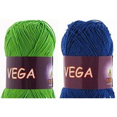 VEGA VITA (65% вискоза, 35% хлопок, 50 г 200 м)
