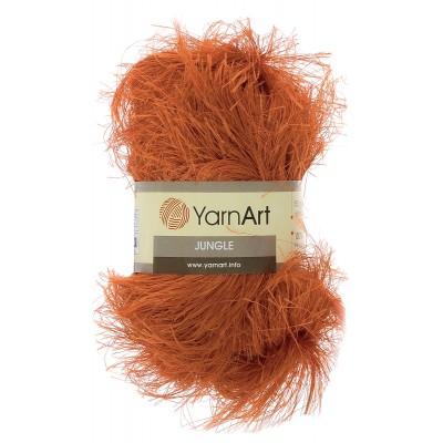 JUNGLE YARN ART Джунгли Ярн Арт) оранжевый